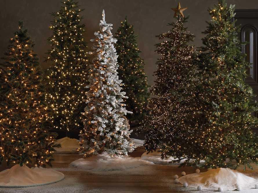 9' Pre-lit Fairfield Pine Tree, slide 4 of 4