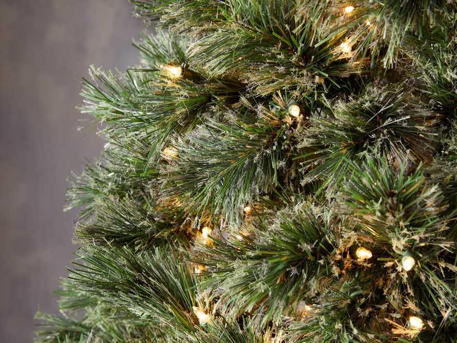 7.5' Pre-Lit Cashmere Tree, slide 3 of 4