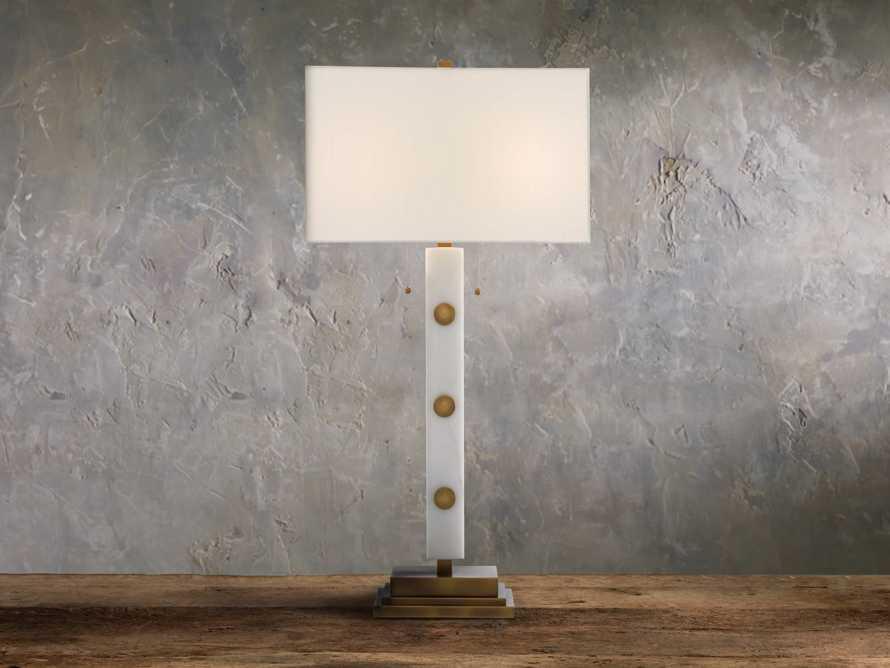 Iggy Ivory Table Lamp, slide 1 of 3