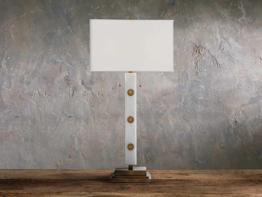 Iggy Ivory Table Lamp, slide 2 of 3