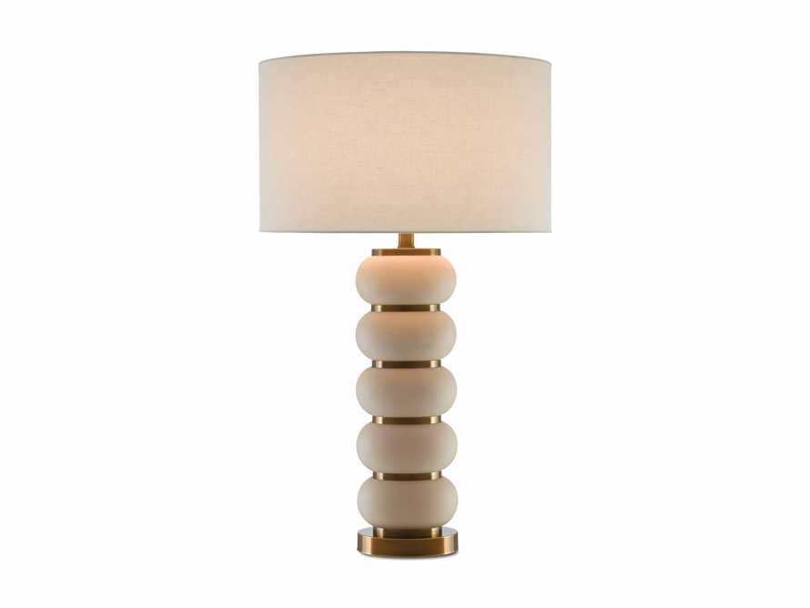 Novak Ivory Table Lamp, slide 2 of 2