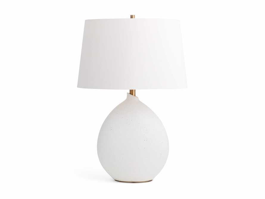 Khan Table Lamp in White, slide 3 of 3
