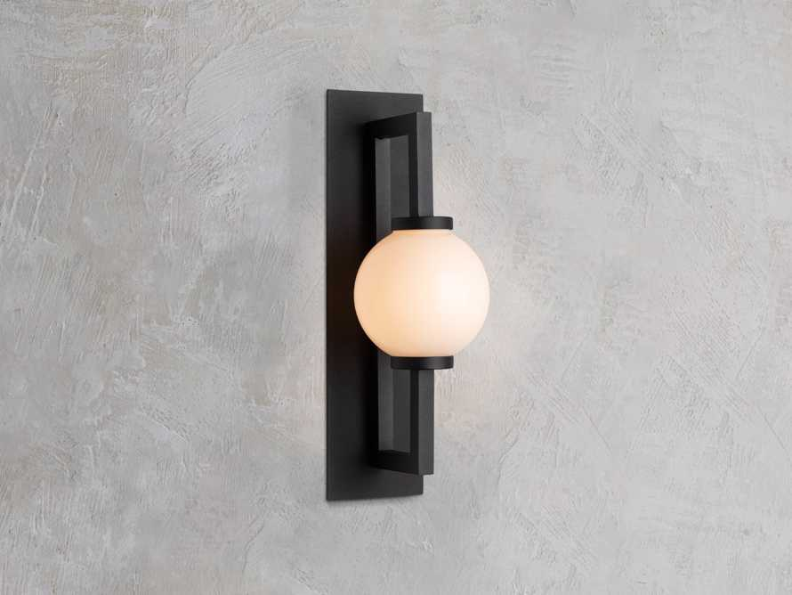 DOBSON SMALL OUTDOOR SCONCE, slide 1 of 3