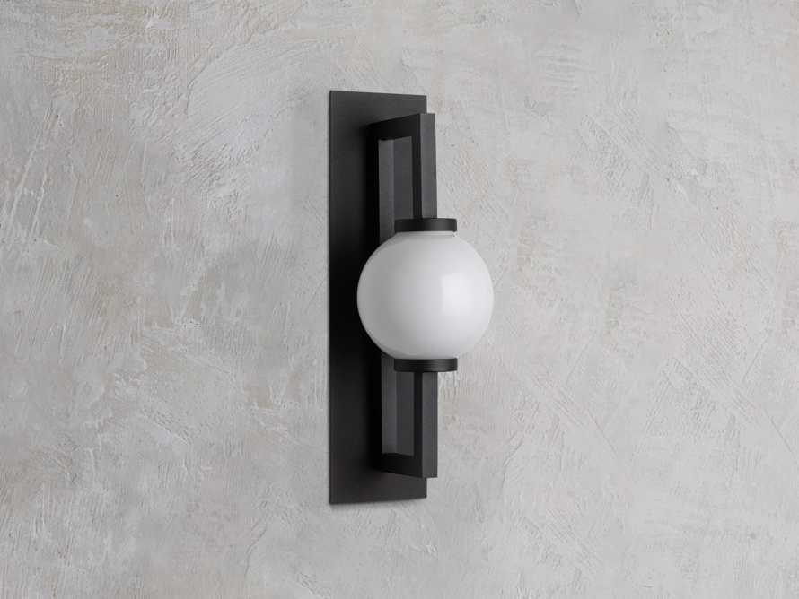 DOBSON SMALL OUTDOOR SCONCE, slide 2 of 3