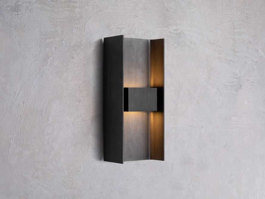 Sidney Small Outdoor Sconce, slide 1 of 3