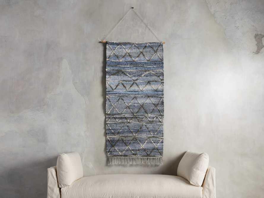 Alva Blue Wall Hanging, slide 1 of 3
