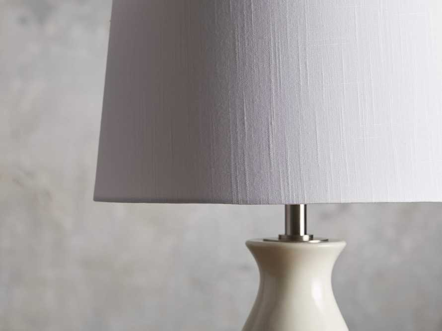 Hagen Table Lamp in Ivory, slide 2 of 3