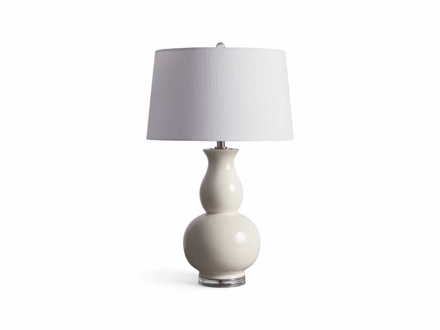Hagen Table Lamp in Ivory, slide 3 of 3
