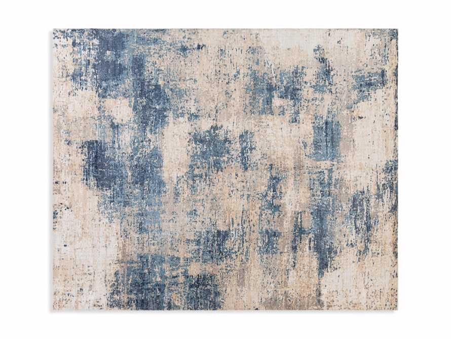5 X 7'6 LYNDEN BLUE RUG, slide 4 of 4