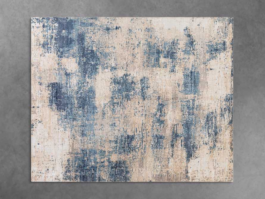 5 X 7'6 LYNDEN BLUE RUG, slide 2 of 4