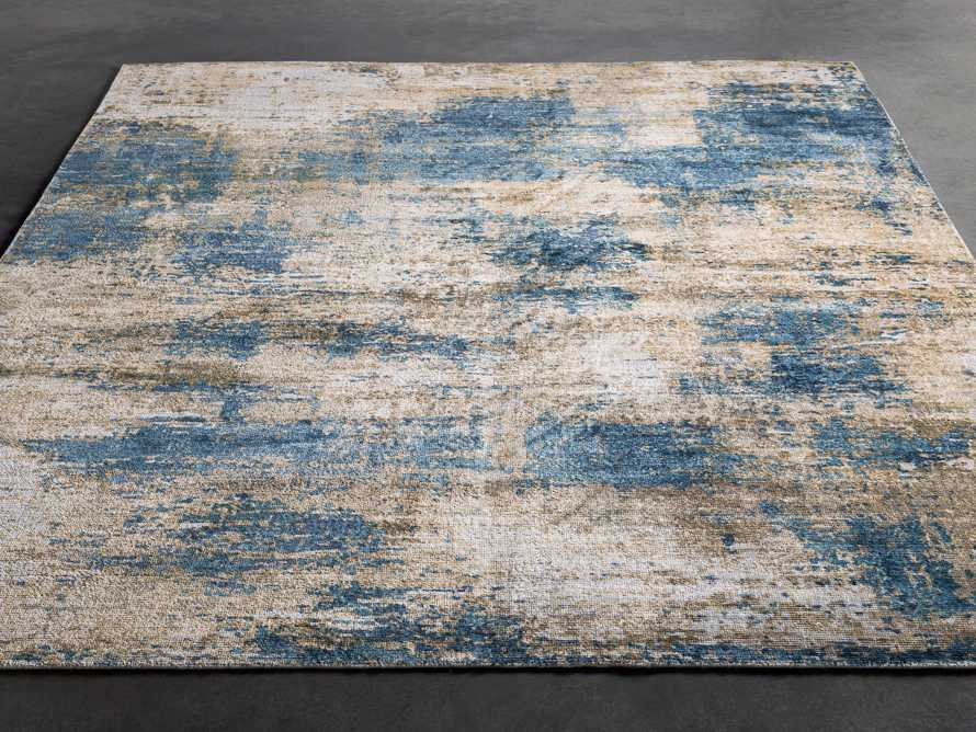 5 X 7'6 LYNDEN BLUE RUG, slide 3 of 4