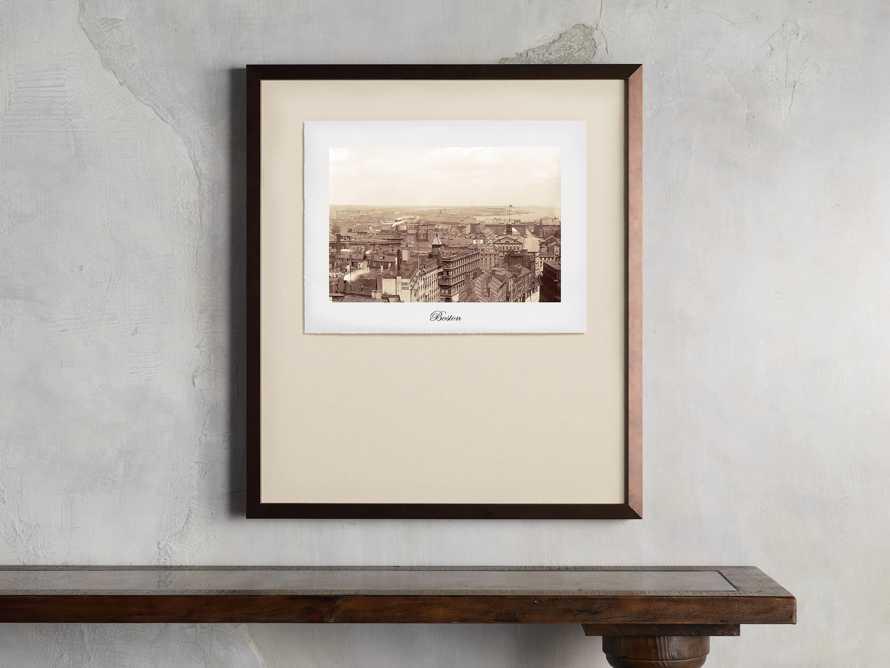 """27"""" Framed Postcard from Boston I, slide 1 of 2"""