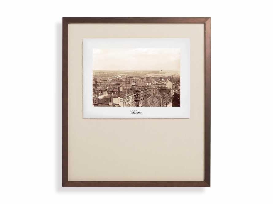 """27"""" Framed Postcard from Boston I, slide 2 of 2"""