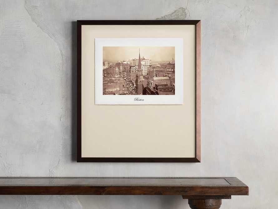 """27"""" Framed Postcard from Boston II, slide 1 of 2"""