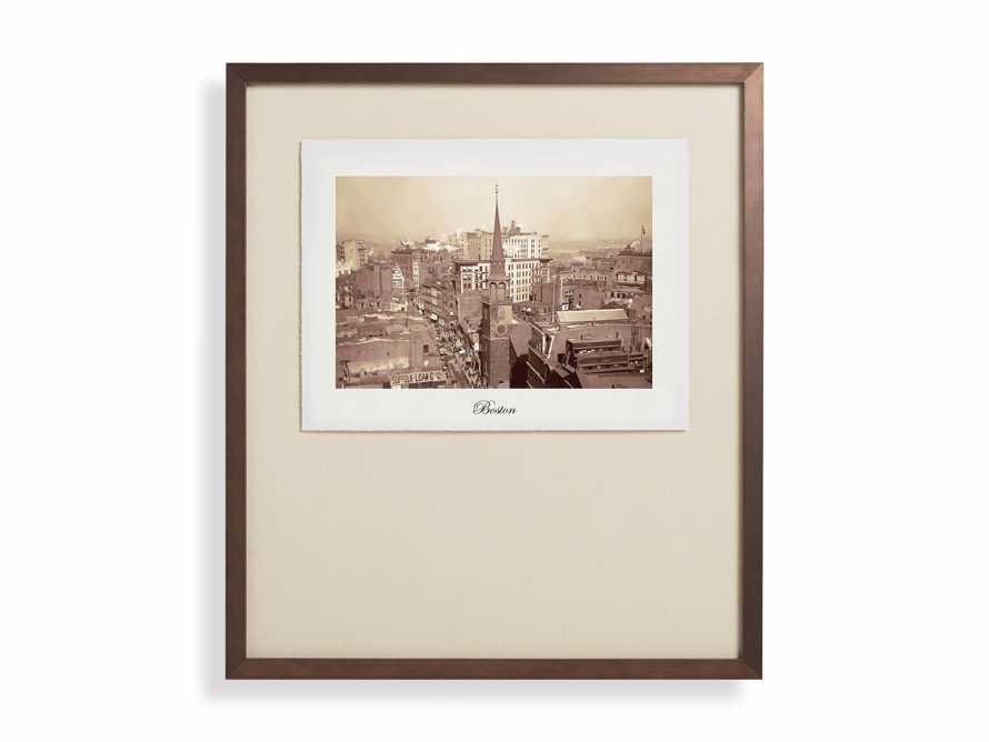 """27"""" Framed Postcard from Boston II, slide 2 of 2"""