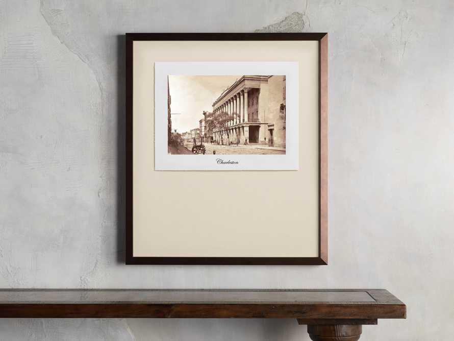 """27"""" Framed Postcard from Charleston II, slide 1 of 2"""