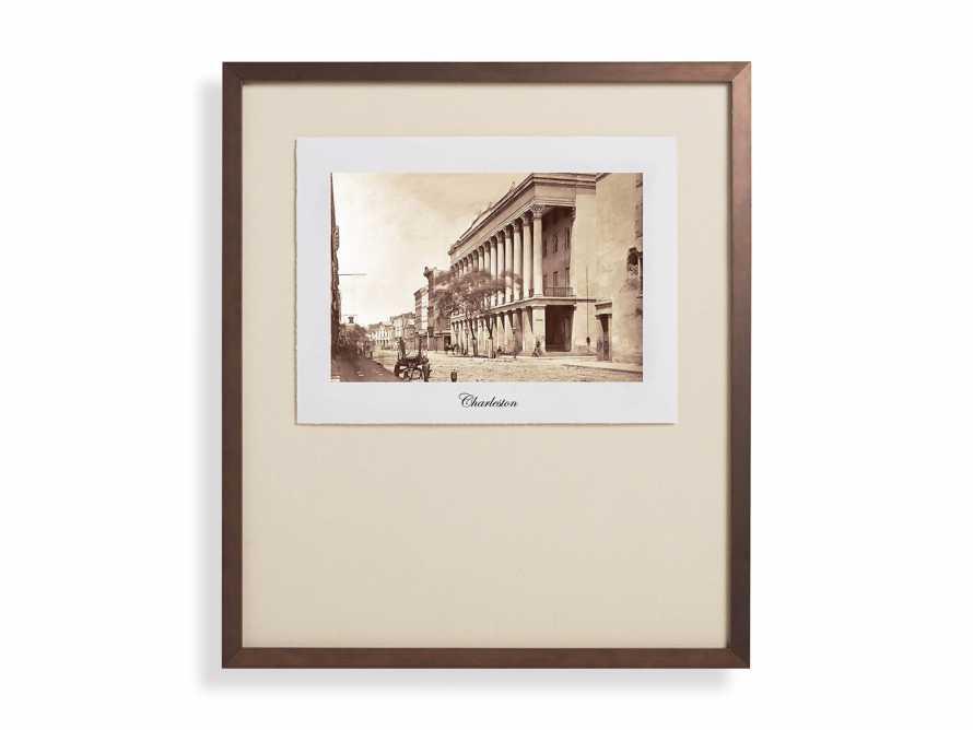 """27"""" Framed Postcard from Charleston II, slide 2 of 2"""
