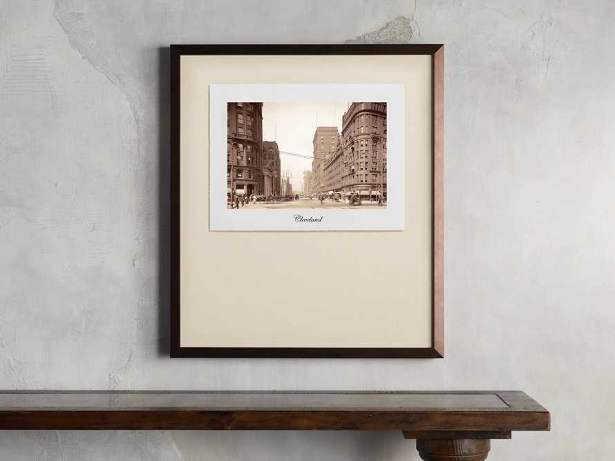 "27"" Framed Postcard from Cleveland I, slide 1 of 2"