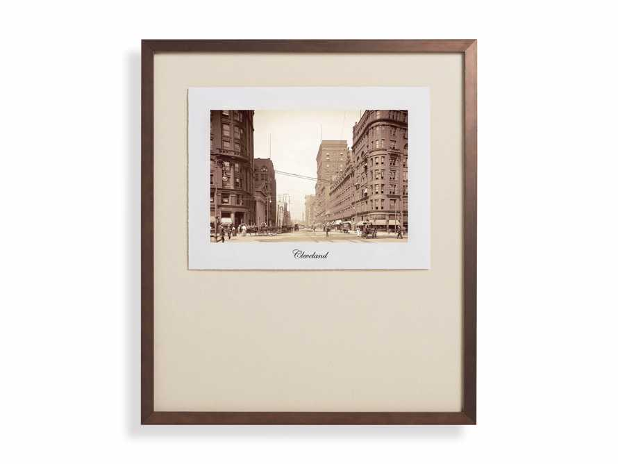 "27"" Framed Postcard from Cleveland I, slide 2 of 2"