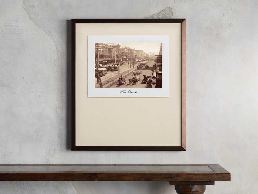 "27"" Framed Postcard from New Orleans I, slide 1 of 2"