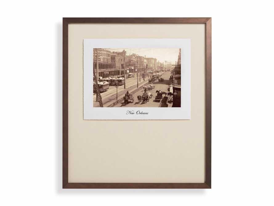 "27"" Framed Postcard from New Orleans I, slide 2 of 2"