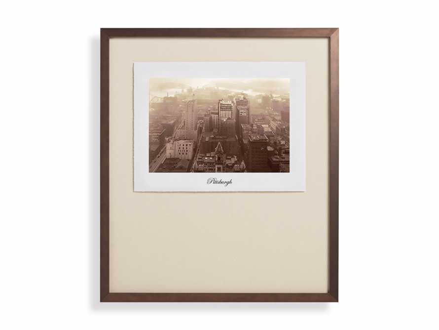 "27"" Framed Postcard from Pittsburgh I, slide 2 of 2"