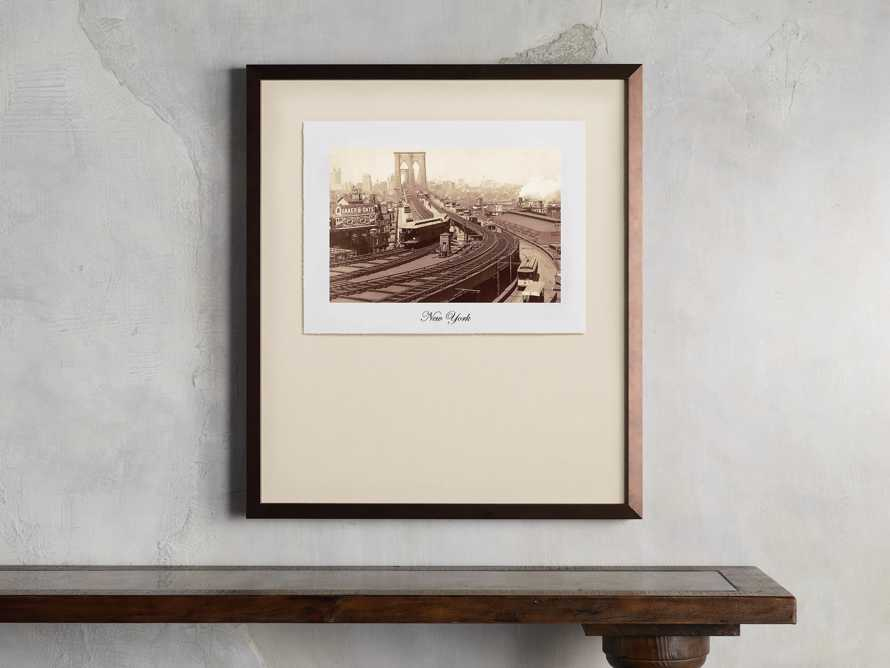 "27"" Framed Postcard from New York I, slide 1 of 2"