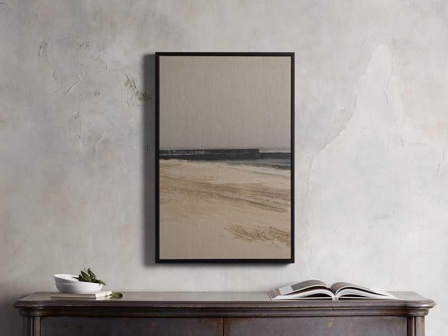 Distant Sea Framed Print, slide 1 of 4