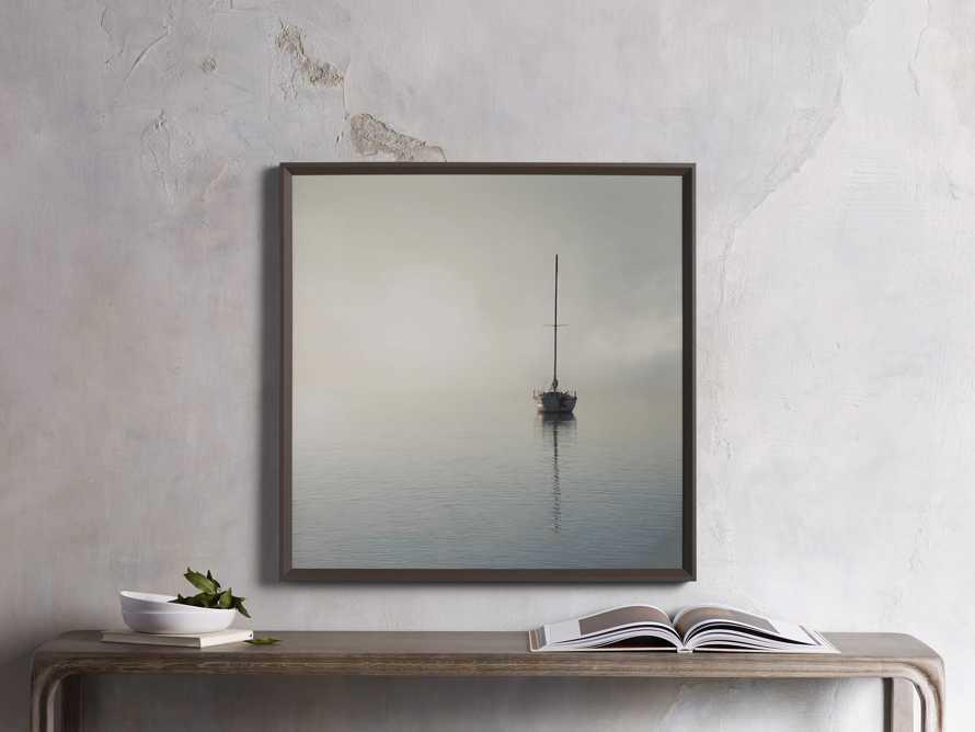 Foggy Morning Sail Print, slide 1 of 3