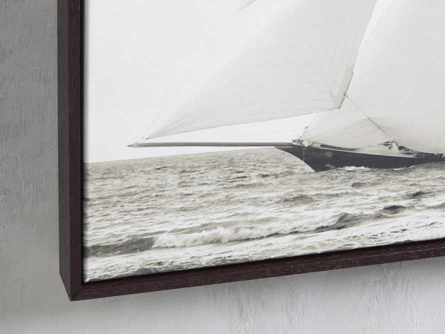 Sepia Sails Framed Print, slide 2 of 3