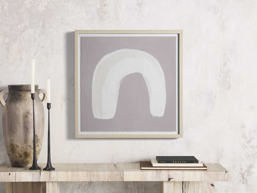 Neutral Arch I Watercolor Framed Print, slide 1 of 7