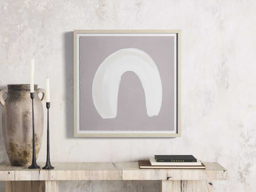 Neutral Arch II Watercolor Framed Print, slide 1 of 7