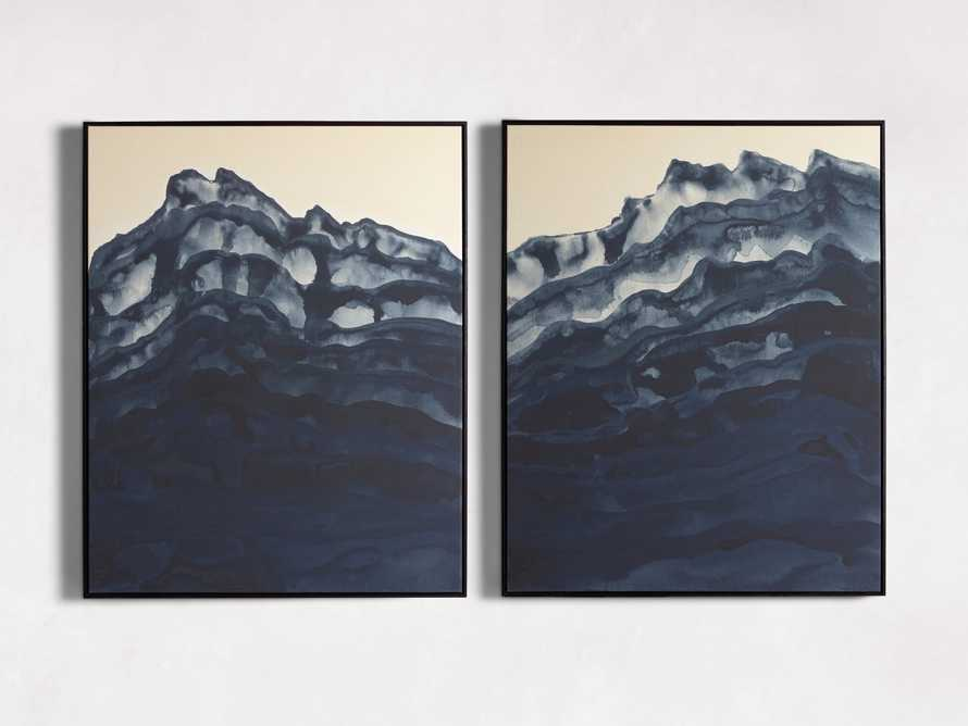 Mountain Shadow Framed Print II, slide 3 of 5