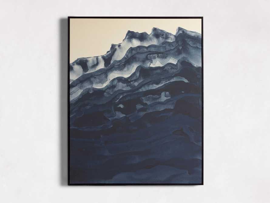 Mountain Shadow Framed Print II, slide 4 of 5