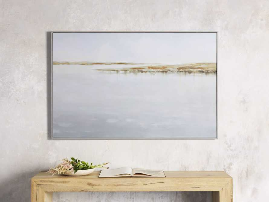 Floating Coast Framed Print, slide 1 of 5