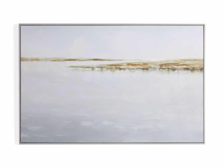 Floating Coast Framed Print, slide 5 of 5
