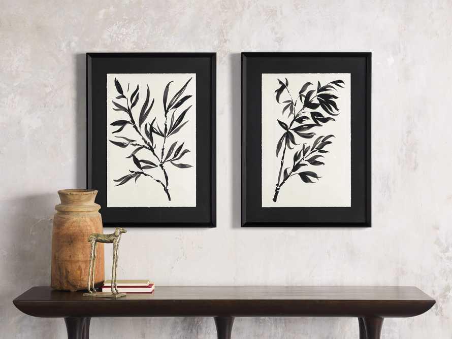 Caligraphy Botanical Framed Print I, slide 4 of 7