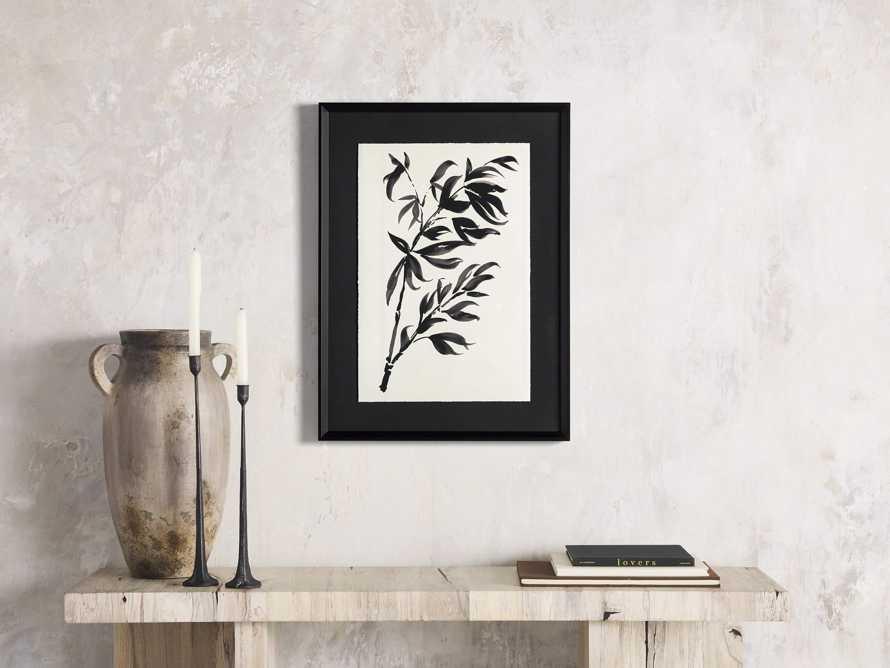 Caligraphy Botanical Framed Print I, slide 1 of 7
