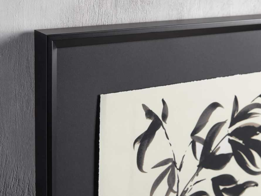 Caligraphy Botanical Framed Print I, slide 2 of 7