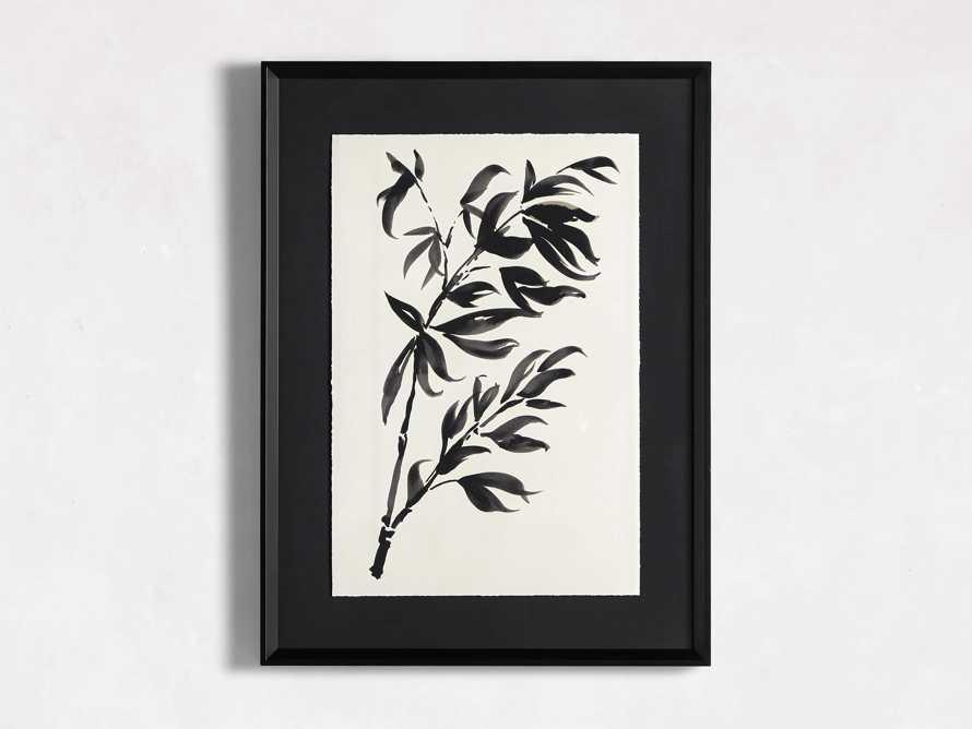 Caligraphy Botanical Framed Print I, slide 3 of 7