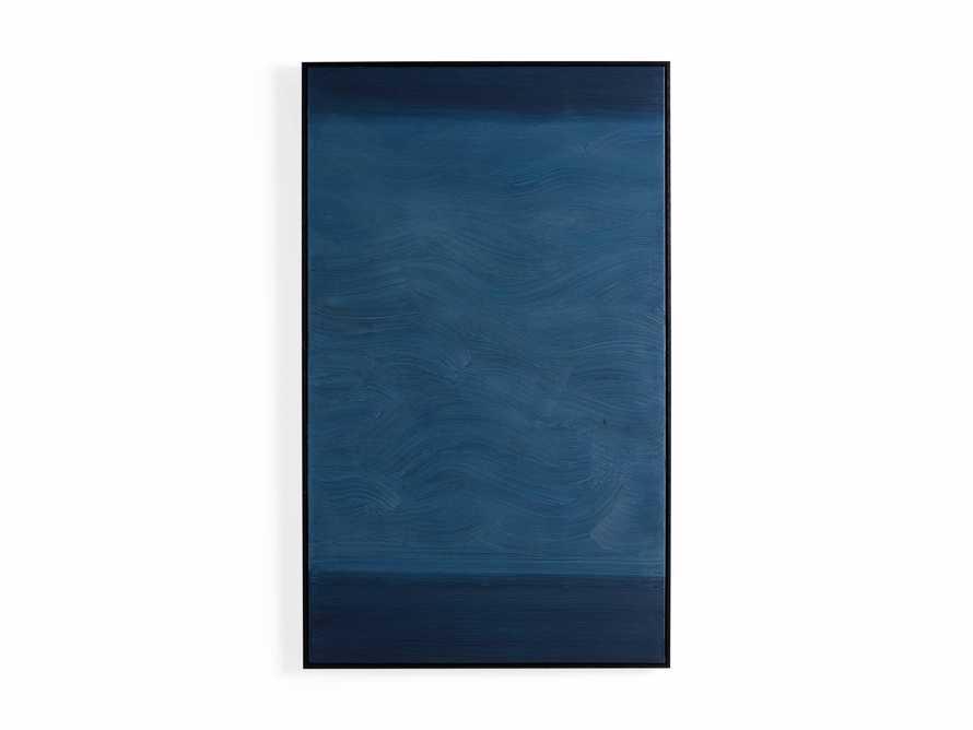 Indigo Waves Framed Painting, slide 5 of 5