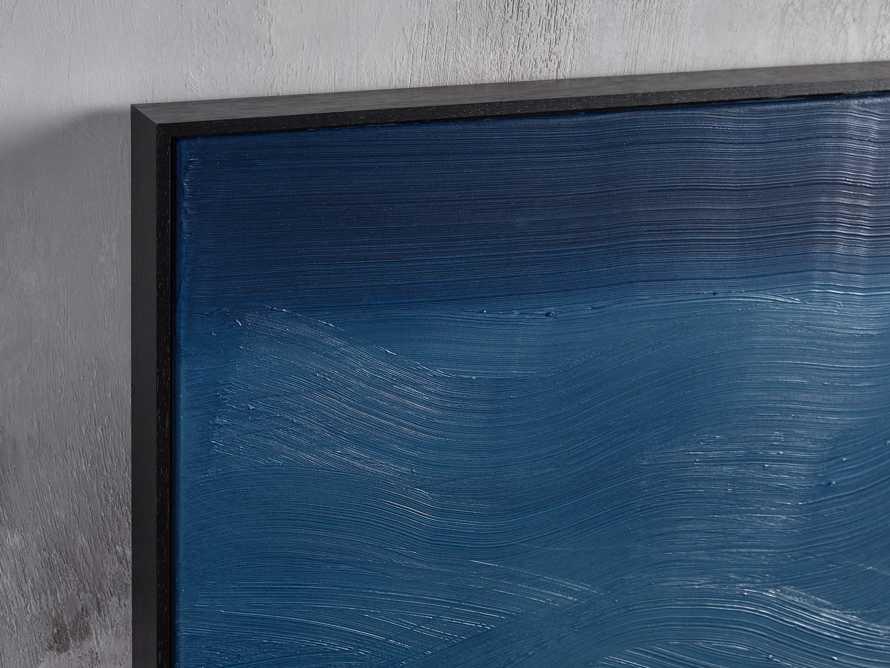 Indigo Waves Framed Painting, slide 2 of 5