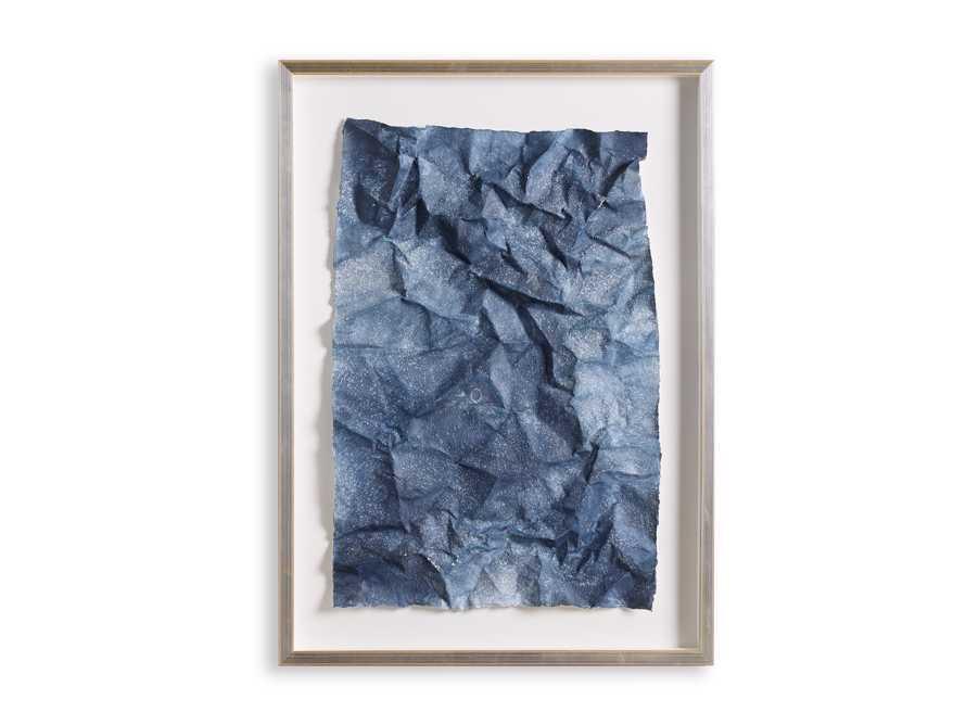 Denim Abstract Framed Print I, slide 5 of 5
