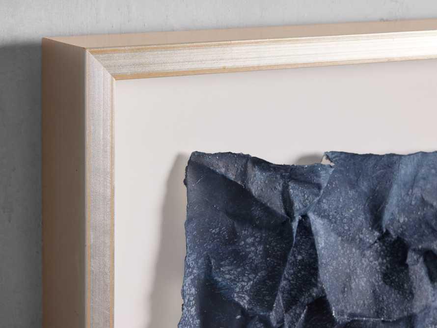 Denim Abstract Framed Print I, slide 2 of 5