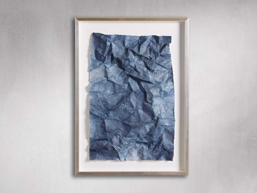 Denim Abstract Framed Print I, slide 3 of 5