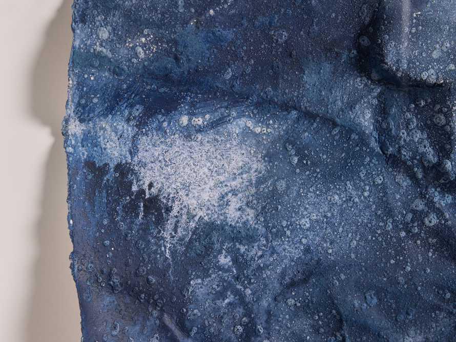 Denim Abstract Framed Print II, slide 3 of 9