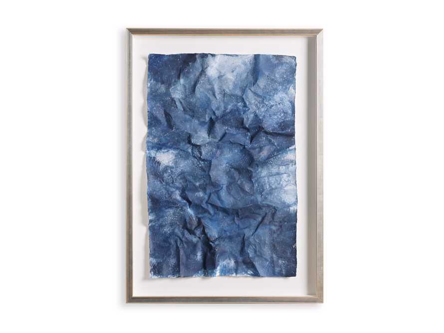 Denim Abstract Framed Print II, slide 2 of 9