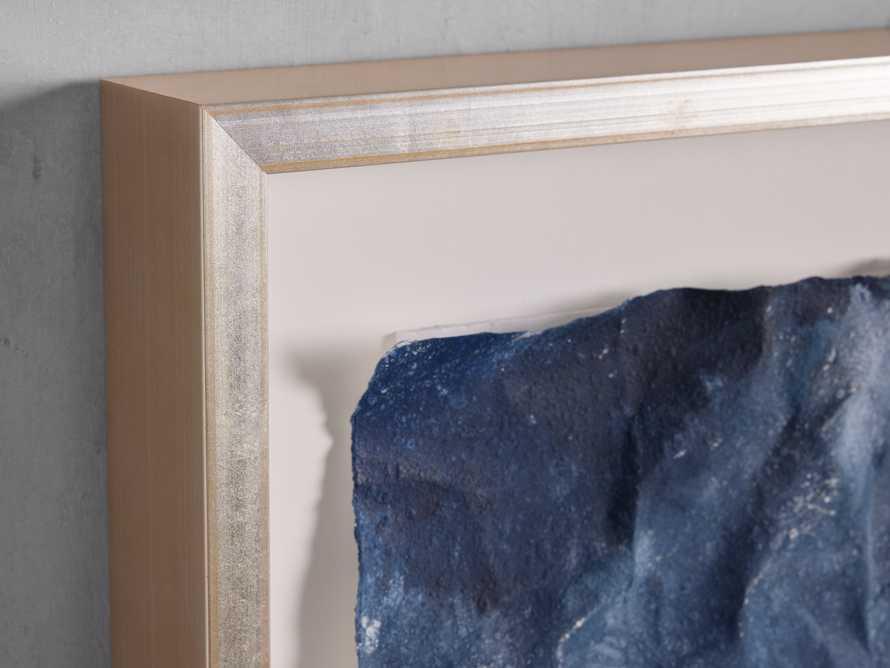 Denim Abstract Framed Print II, slide 5 of 9