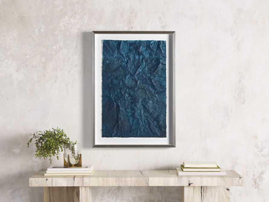 Denim Abstract Framed Print II, slide 1 of 9