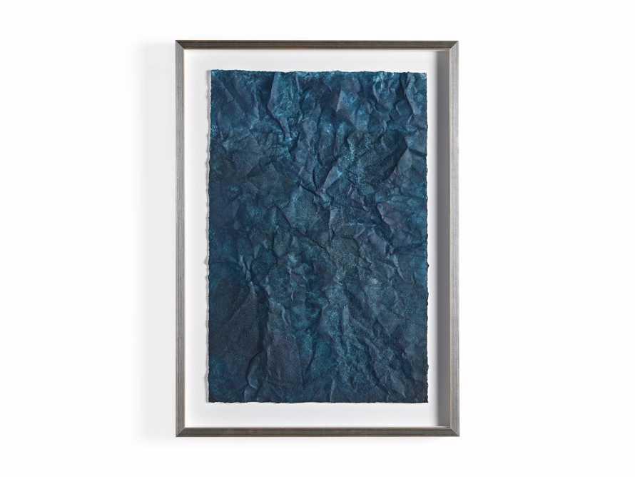 Denim Abstract Framed Print II, slide 9 of 9